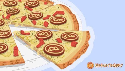 この日は世界ビットコインピザ日として祝われています